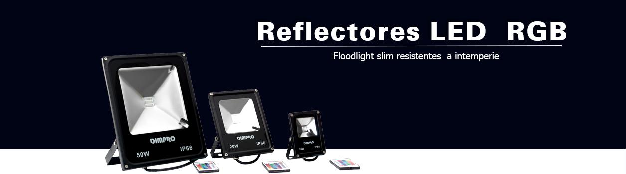 Reflectores LED RGB